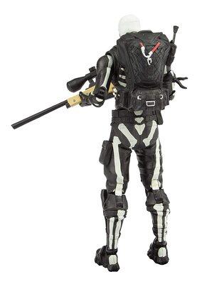 Скелет-патрульный солдат премиум Фортнайт (McFarlane Toys Fortnite Skull Trooper Premium Action Figure) (фото, вид 4)