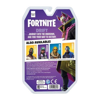 Фигурка Фортнайт - Дрифт (Ронин) (Fortnite FNT0012 Solo Mode Core Figure Pack, Drift) (фото, вид 2)