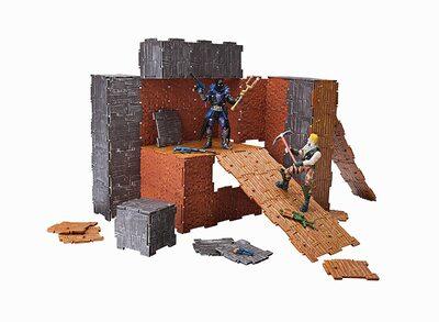 Конструктор Фортнайт - Turbo Builder - Джонси и Ворон (89 деталей) (Fortnite FNT0036 Turbo Builder Set 2 Figure Pack, Null) (фото, вид 1)
