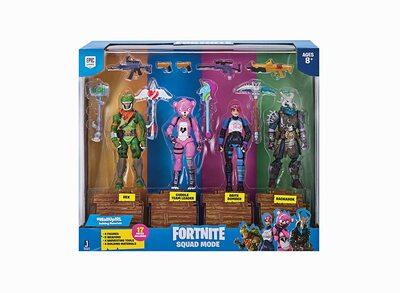 Отряд Фортнайт - серия 1 (Fortnite Squad Mode 4 Figure Pack) (фото, вид 1)