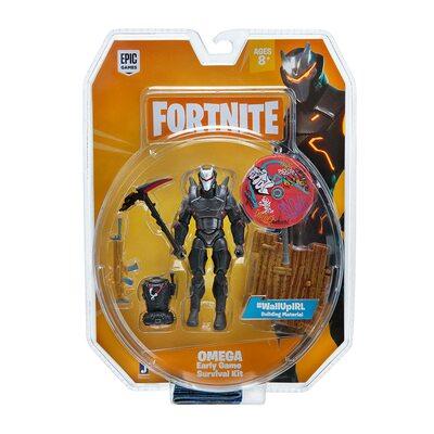 Омега - Комплект для выживания Фортнайт (Fortnite Early Game Survival Kit 1 Figure Pack, Omega) (фото, вид 2)