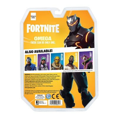 Омега - Комплект для выживания Фортнайт (Fortnite Early Game Survival Kit 1 Figure Pack, Omega) (фото, вид 3)