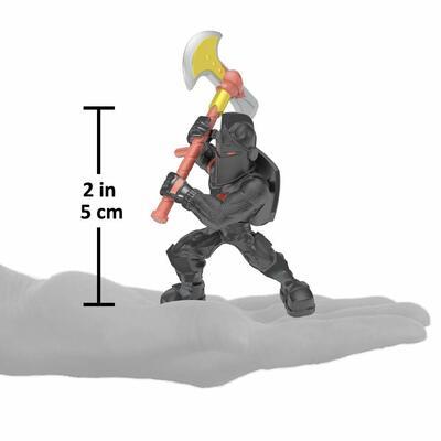 Королевская битва Фортнайт: Баскетбольная душа и Чёрный рыцарь (Fortnite Battle Royale Collection - Black Knight & Triple Threat 2 Figure Pack) (фото, вид 2)