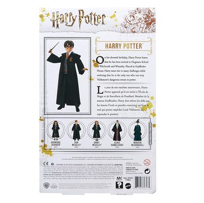 Кукла Гарри Поттер - Гарри Поттер (Mattel Harry Potter Doll) (фото, вид 2)