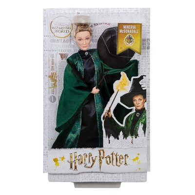 Кукла Минерва Макгонагалл (Mattel Harry Potter Minerva McGonagall Doll) (фото, вид 1)