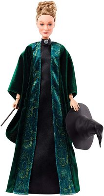 Кукла Минерва Макгонагалл (Mattel Harry Potter Minerva McGonagall Doll) (фото, вид 3)