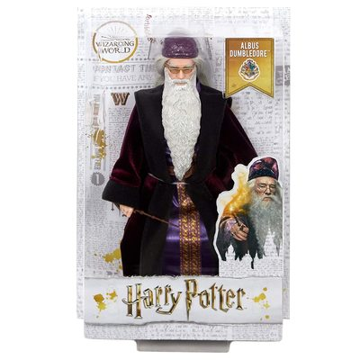 Кукла Альбус Дамблдор - Гарри Поттер (Mattel Harry Potter Albus Dumbledore Doll) (фото, вид 1)
