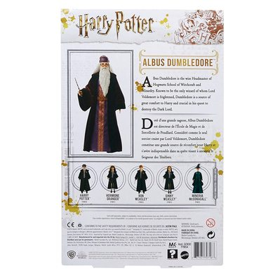 Кукла Альбус Дамблдор - Гарри Поттер (Mattel Harry Potter Albus Dumbledore Doll) (фото, вид 2)