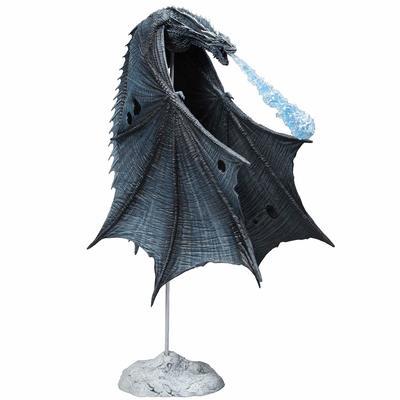 Игра престолов Визерион (Ледяной Дракон) Роскошная фигура (McFarlane Toys 10655-8 Game of Thrones Viserion Ice Dragon Deluxe Box) (фото, вид 1)