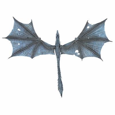 Игра престолов Визерион (Ледяной Дракон) Роскошная фигура (McFarlane Toys 10655-8 Game of Thrones Viserion Ice Dragon Deluxe Box) (фото, вид 2)