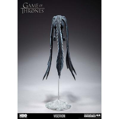 Игра престолов Визерион (Ледяной Дракон) Роскошная фигура (McFarlane Toys 10655-8 Game of Thrones Viserion Ice Dragon Deluxe Box) (фото, вид 4)