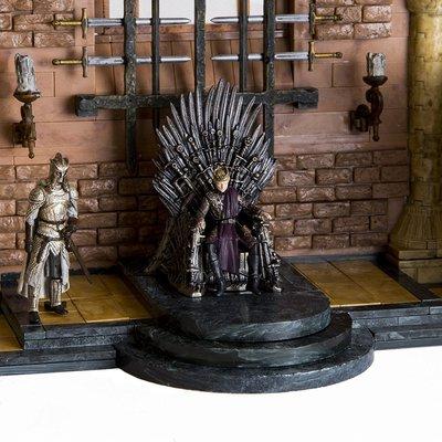 Игра престолов Железный тронный зал (набор - 314 деталей) (McFarlane Toys Game of Thrones Iron Throne Room Construction Set) (фото, вид 2)