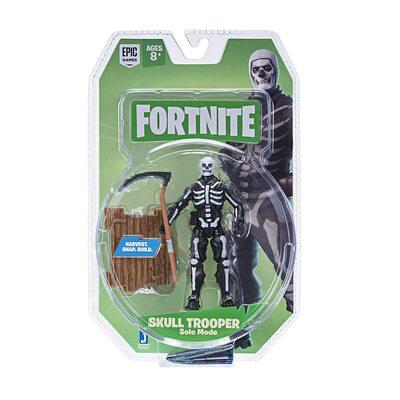 Фигурка Фортнайт - Скелет (Fortnite Solo Mode Core Figure Pack, Skull Trooper) (фото, вид 1)