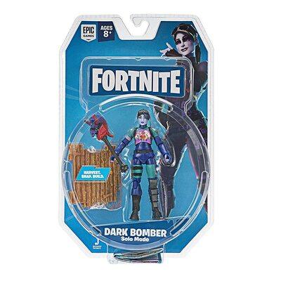 Фигурка Фортнайт - Зловещая бомбистка (Fortnite Solo Mode Core Figure Pack, Dark Bomber) (фото, вид 1)