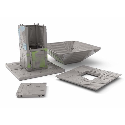 Игровой набор Фортнайт Порт-A-Форт с фигуркой Диверсант (Fortnite Battle Royale Collection: Port-A-Fort Playset & Infiltrator Figure) (фото, вид 1)