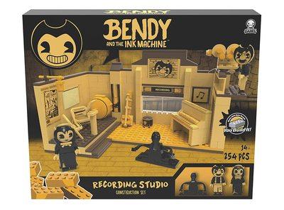 Конструктор Бенди и чернильная машина: Студия звукозаписи (254 деталей) (Basic Fun Bendy Recording Studio Scene Set) (фото, вид 1)