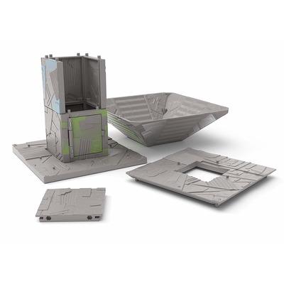 Игровой набор Фортнайт Порт-A-Форт с фигуркой Диверсант (Fortnite Battle Royale Collection: Port-A-Fort Playset & Infiltrator Figure) (фото, вид 2)