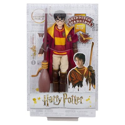 Кукла Гарри Поттер - Серия игры Квиддич (Harry Potter Quidditch Harry Potter) (фото, вид 2)