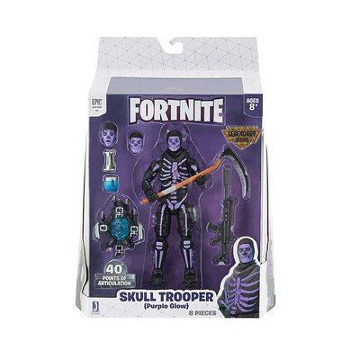 Скелет - Легендарная серия Фортнайт (Fortnite Legendary Series Figure, Skull Trooper) (фото, вид 1)