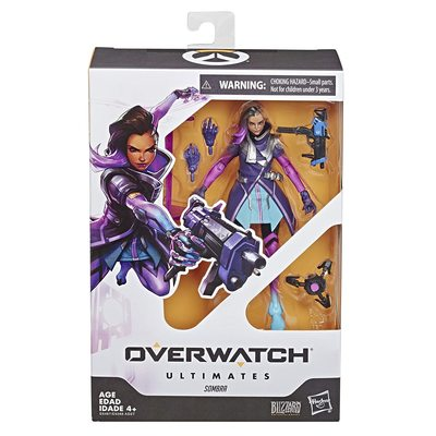 Сомбра - фигурка Overwatch (Hasbro Overwatch Ultimates Series Sombra Collectible Action Figure) (фото, вид 1)