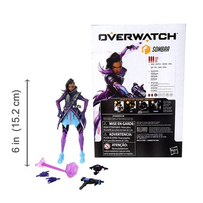 Сомбра - фигурка Overwatch (Hasbro Overwatch Ultimates Series Sombra Collectible Action Figure) (фото, вид 2)
