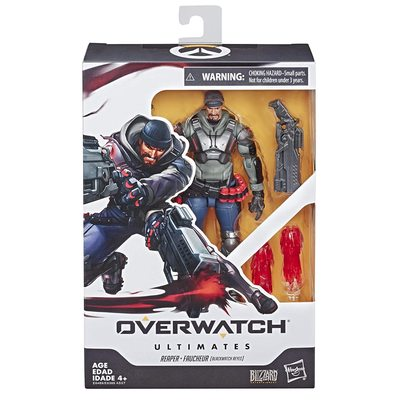 Жнец Габриэль Рейес - фигурка Overwatch (Hasbro Overwatch Ultimates Series Blackwatch Reyes (Reaper) Skin Collectible Action Figure) (фото, вид 1)