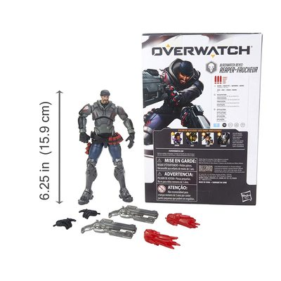 Жнец Габриэль Рейес - фигурка Overwatch (Hasbro Overwatch Ultimates Series Blackwatch Reyes (Reaper) Skin Collectible Action Figure) (фото, вид 2)