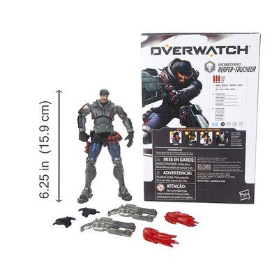 Жнец Габриэль Рейес - фигурка Overwatch (Hasbro Overwatch Ultimates Series Blackwatch Reyes (Reaper) Skin Collectible Action Figure) (фото, вид 2)