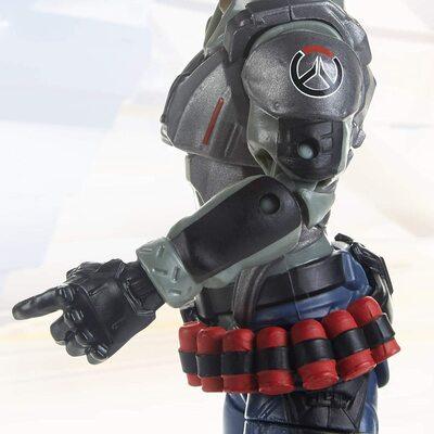 Жнец Габриэль Рейес - фигурка Overwatch (Hasbro Overwatch Ultimates Series Blackwatch Reyes (Reaper) Skin Collectible Action Figure) (фото, вид 3)