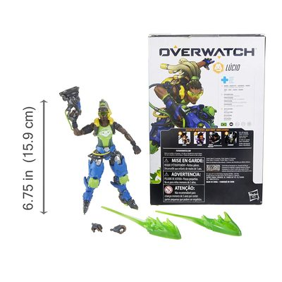 Лусио - фигурка Overwatch (Hasbro Overwatch Ultimates Series Lucio Collectible Action Figure) (фото, вид 2)