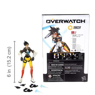 Трейсер - фигурка Overwatch (Hasbro Overwatch Ultimates Series Tracer Collectible Action Figure) (фото, вид 2)