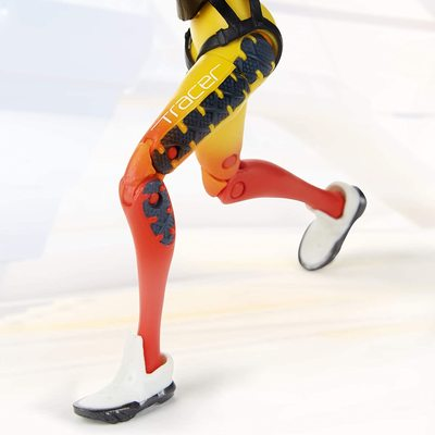 Трейсер - фигурка Overwatch (Hasbro Overwatch Ultimates Series Tracer Collectible Action Figure) (фото, вид 3)