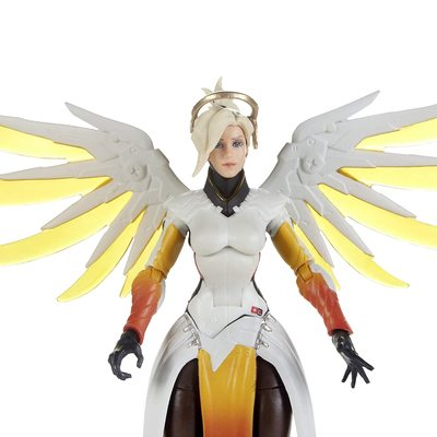 Ангел и Фарра - Набор фигурок Overwatch (Hasbro Overwatch Ultimates Series Pharah & Mercy Dual Pack Collectible Action Figures) (фото, вид 2)
