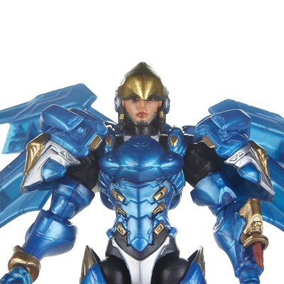 Ангел и Фарра - Набор фигурок Overwatch (Hasbro Overwatch Ultimates Series Pharah & Mercy Dual Pack Collectible Action Figures) (фото, вид 3)