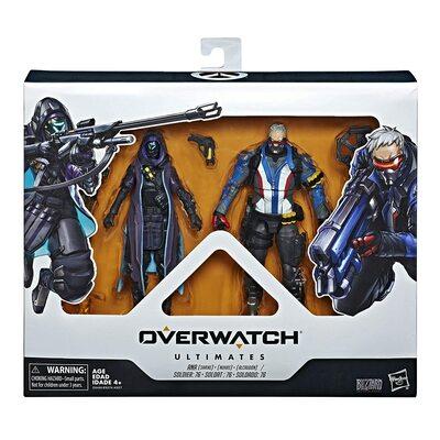 Солдат-76 и Ана Амари - Набор фигурок Overwatch (Hasbro Overwatch Ultimates Series Soldier: 76 & Shrike (Ana) Skin Dual Pack Collectible Action Figures) (фото, вид 1)