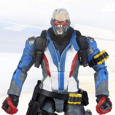 Солдат-76 и Ана Амари - Набор фигурок Overwatch (Hasbro Overwatch Ultimates Series Soldier: 76 & Shrike (Ana) Skin Dual Pack Collectible Action Figures) (фото, вид 3)
