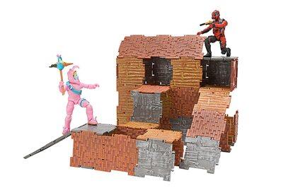 Конструктор Фортнайт - Turbo Builder - Опасный кролик и Вертекс (89 деталей) (Fortnite Turbo Builder Set 2 Figure Pack, Rabbit Raider & Vertex) (фото, вид 1)