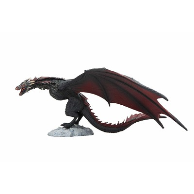 Игра престолов - Дракон Дрогон Коллекционная фигура (McFarlane Toys Game of Thrones Drogon Deluxe Box, Black) (фото, вид 1)