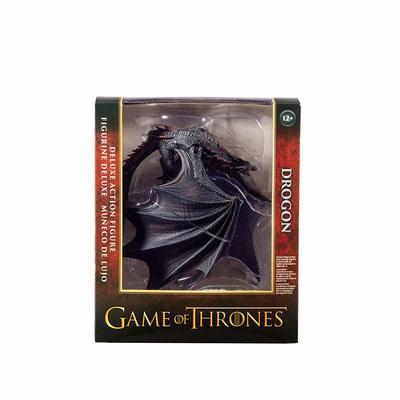 Игра престолов - Дракон Дрогон Коллекционная фигура (McFarlane Toys Game of Thrones Drogon Deluxe Box, Black) (фото, вид 2)