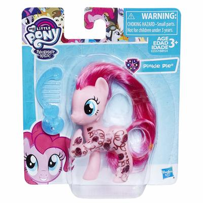 Пони Пинки Пай (My Little Pony Pinkie Pie Glitter Design Pony Figure) (фото, вид 1)