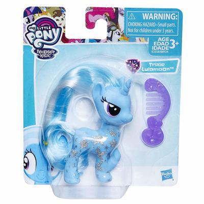 Пони Трикси Луламун (My Little Pony Trixie Lulamoon Glitter Design Pony Figure) (фото, вид 1)
