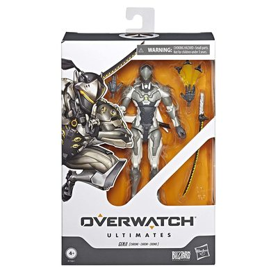 Гэндзи - фигурка Овервотч (Hasbro Ovw Ultimates Chrome Choc) (фото, вид 1)