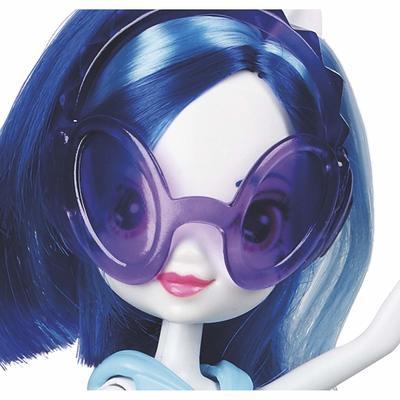 Кукла Диджей пон-3 - Девушки Эквестрии - Neon Rainbow Rocks (My Little Pony Equestria Girls DJ PON-3 Doll (Neon Rainbow Rocks)) (фото, вид 2)