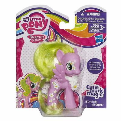 Пони Волшебные Цветочные Пожелания от Cutie Mark (My Little Pony Cutie Mark Magic Flower Wishes Figure) (фото, вид 1)