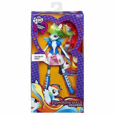 Кукла Радуга Дэш - Девушки Эквестрии из серии Коллекция (My Little Pony Equestria Girls Collection Rainbow Dash) (фото, вид 1)