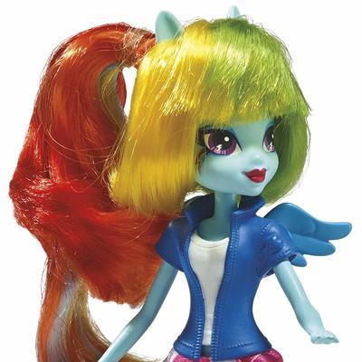 Кукла Радуга Дэш - Девушки Эквестрии из серии Коллекция (My Little Pony Equestria Girls Collection Rainbow Dash) (фото, вид 2)
