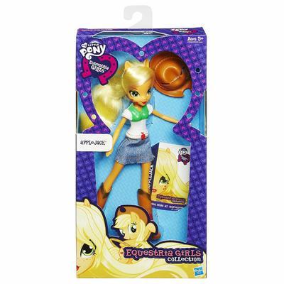 Кукла Эпплджек - Девушки Эквестрии из серии Коллекция (My Little Pony Equestria Girls Collection Applejack) (фото, вид 1)