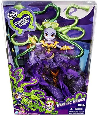 Эксклюзивная кукла Mane-iac Mayhem - Комик кон 2014 (SDCC 2014 Exclusive My Little Pony Equestria Girls Mane-iac Mayhem Doll) (фото, вид 1)