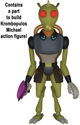 Фигурка Рик в костюме для чистки - Рик и Морти (Собери - Кромбопулос Майкл) (Funko Action Figure: Rick & Morty (Purge Suit) Collectible Figure (Krombopulos Michael)) (фото, вид 1)