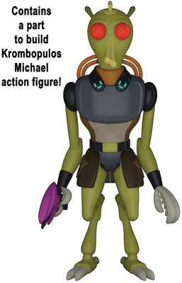 Фигурка Сквончи - Рик и Морти (Собери - Кромбопулос Майкл) (Funko Action Figure: Rick and Morty Squanchy with Boots Collectible Figure) (фото, вид 1)